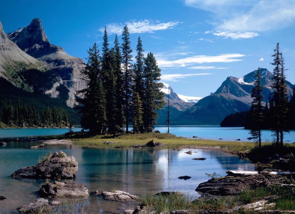 Imagens da natureza: Montanhas Rochosas