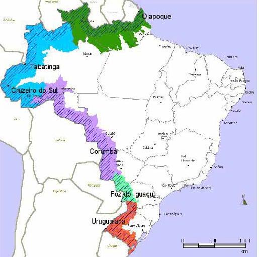 Conflitos de Fronteira do Brasil