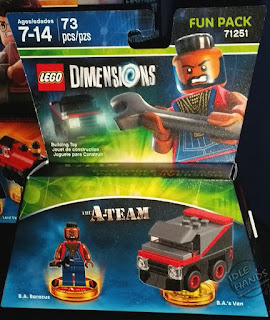 LEGO Dimensions Video Game Fall 2016 Preview A-Team Fun Pack