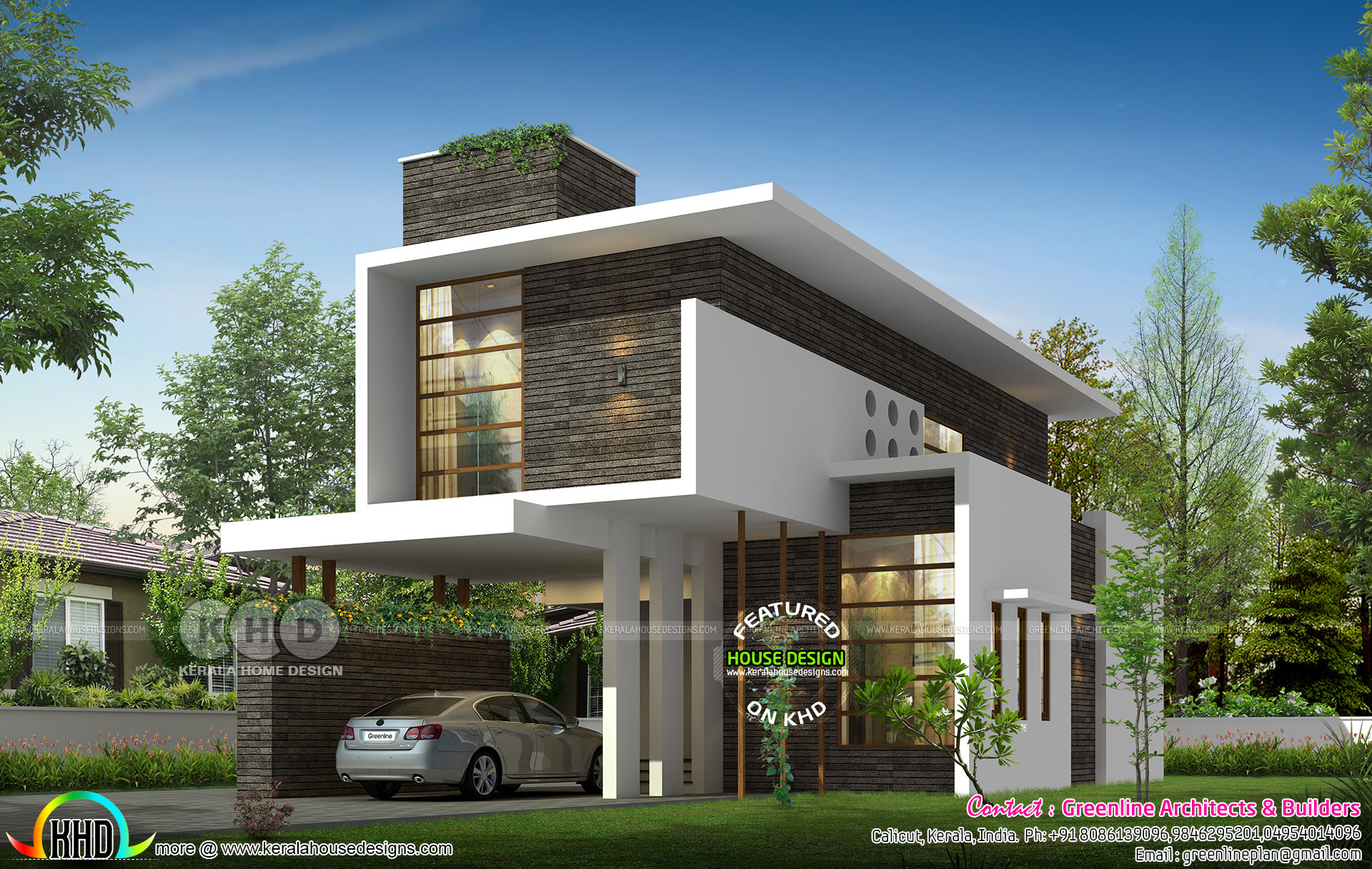 2210 Sq Ft 3 Bedroom New Generation House Plan Kerala Home