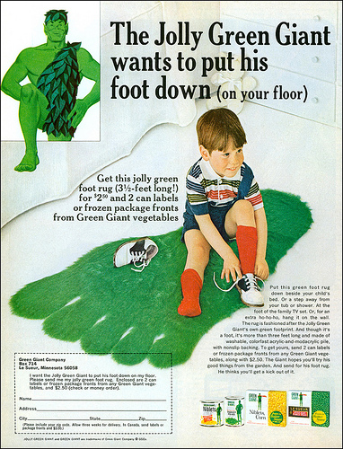Green Giant S Vintage Advertisments Vintage Everyday