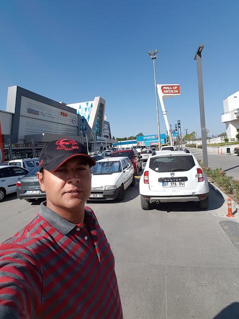 Parking Area of Mall of Antalya