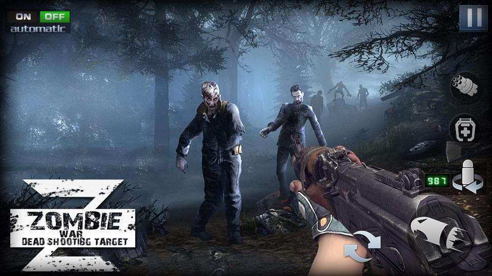 Zombie War Z Hero Survival Rules MOD APK terbaru