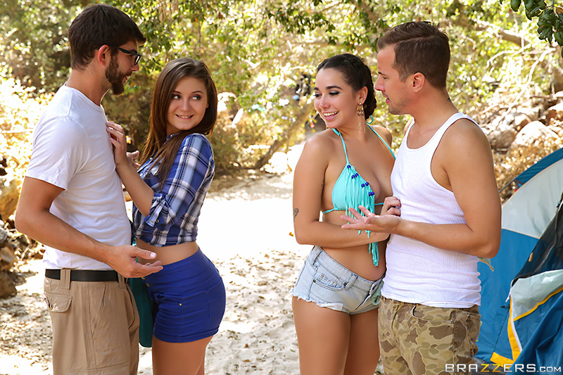 UNCENSORED [brazzers]2017-09-27 In Tents Fucking: Part 1, AV uncensored