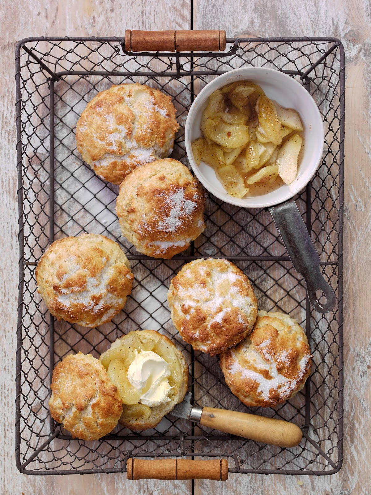 How To Make Granny Smith's Famous Apple Scones
