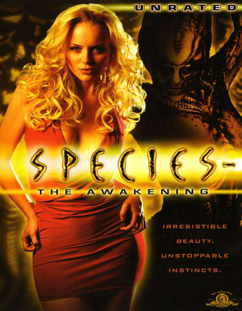 Poster Of Species IV - The Awakening 2007 Dual Audio 720p UNRATED BRRip [Hindi - English] ESubs Free Download Watch Online downloadhub.in