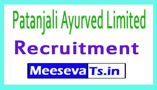Patanjali Recruitment