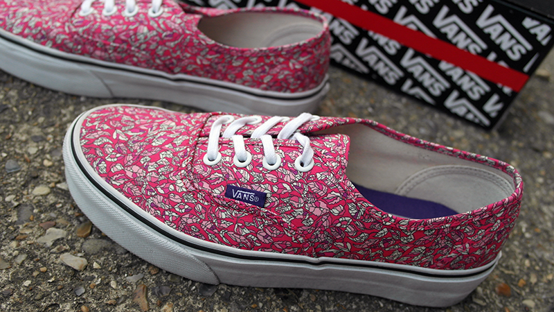 c4653fdf75 New Shoes  Liberty   Vans Collaboration. Liberty of London x ...