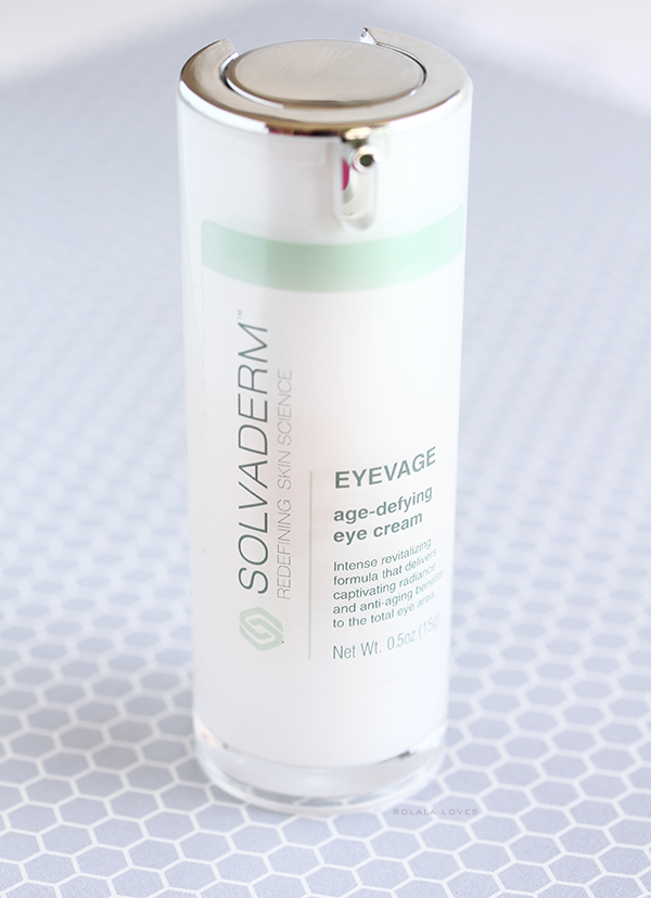 Solvaderm Eyevage, Solvaderm Eyevage Review, Eye Cream Review, Natural Eye Cream, Clinical Strength Eye Cream