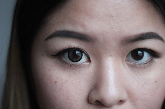 Circle Lens Review Almond Brown