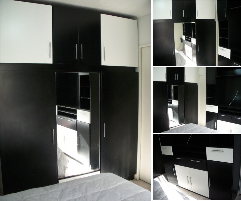 muebles para dormitorio a medida laqueados en blanco y negro satinado ud muebles blanco satinado