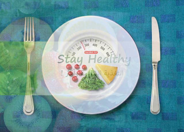 المجموعات  والحصص الغذائية  و كيف يمكننا حسابها للوزن المثالي؟