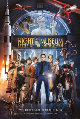Night At The Museum 2 Battle Of The Smithsonian 2009 Dual Audio [Hindi-English] 720p BluRay