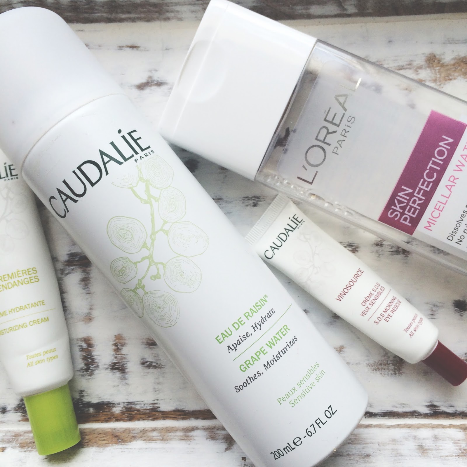 My favourite skincare for sensitive skin