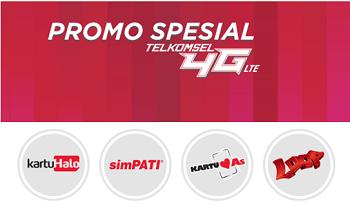 Promo Paket Internet Telkomsel 4G LTE 2015 Info Data dan Tarif