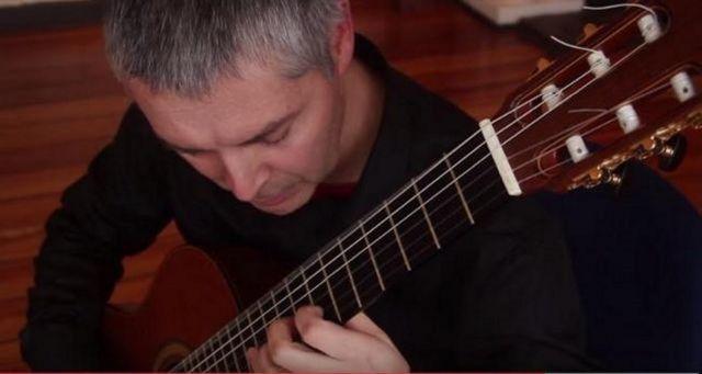 guitarrista Patricio Muñoz Quezada