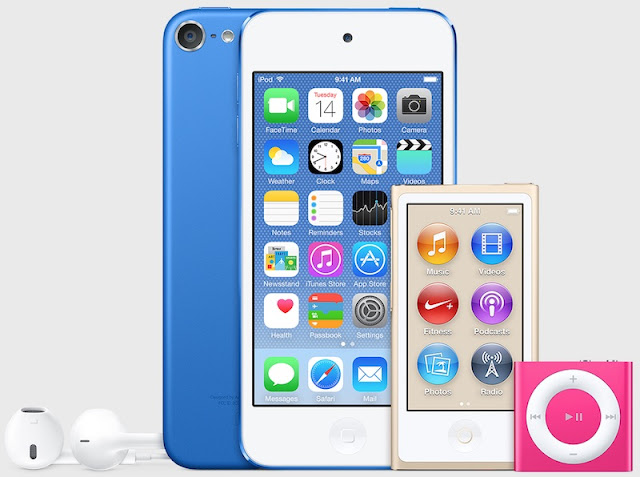 iTunes 12.2 reveals the arrival of new iPod in new colors!