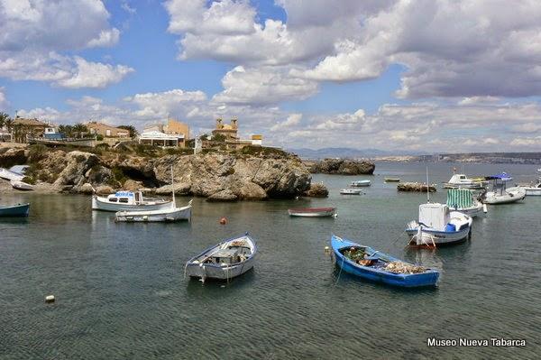 Vista de Tabarca (Tabarca, Alicante)