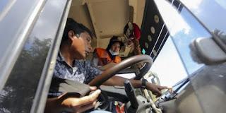 Pelatihan Khusus Pengemudi Bus Menjelang Arus Mudik Idul Fitri