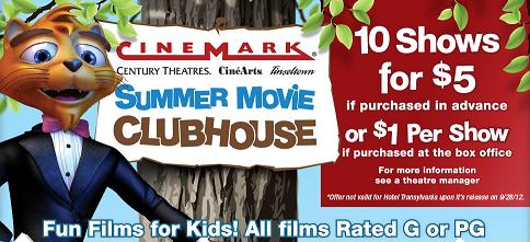 Get deal alerts for Cinemark Movies 10