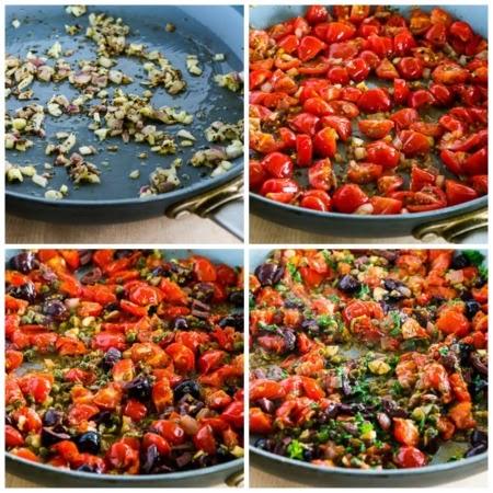 Mediterranean Zucchini Noodles (Low-Carb, Gluten-Free, Paleo, Vegan) found on KalynsKitchen.com