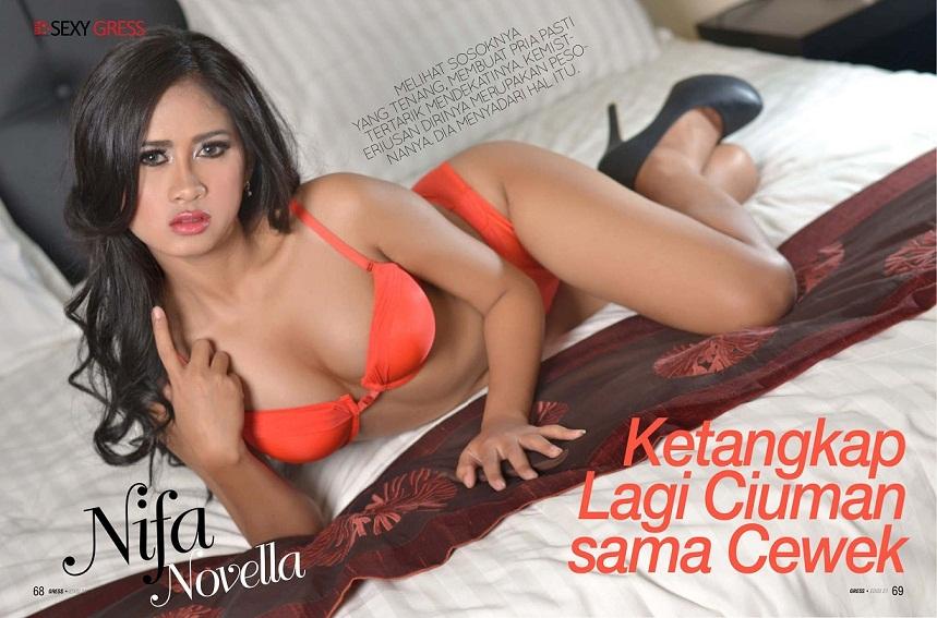 Koleksi Foto-foto Hot dan Seksi Nifa Novella