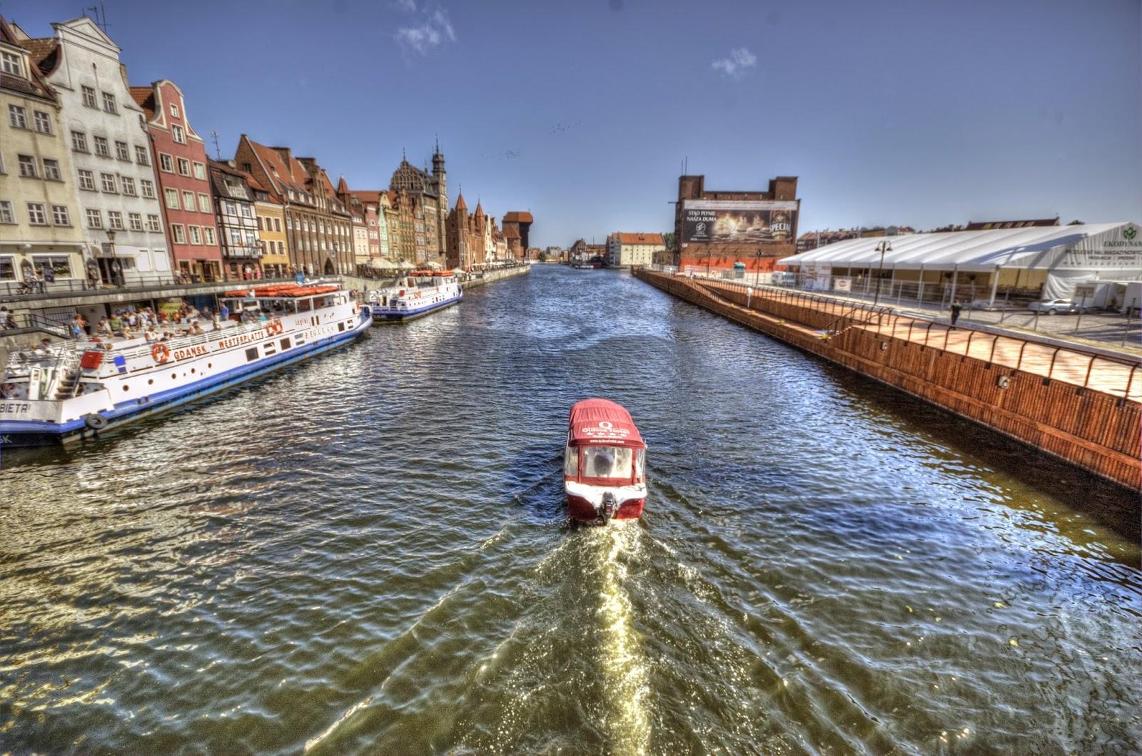 widok na Gdańsk centrum