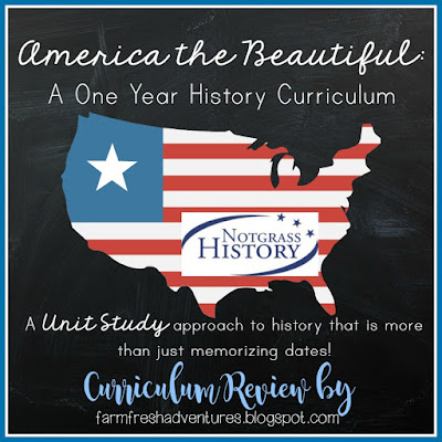 America the Beautiful Curriculum from Notgrass History ~ Curriculum Review