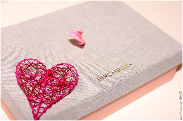 Birchbox février 2016 À Nos Amours - Blog beauté Les Mousquetettes©