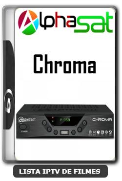 Alphasat Chroma Nova Atualização Patch Correção Keys SKS 61w - 20-06-2020