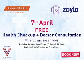 Zoylo Free Health Check Up
