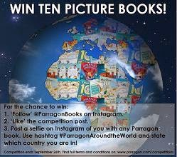 parragon books instagram contest