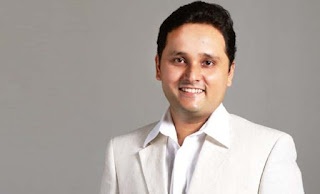 Author Amish Tripathi as the Director of London's Nehru Centre