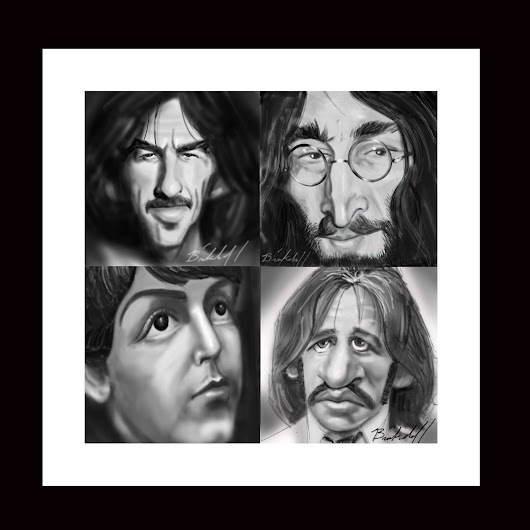 The Fab Four Prints