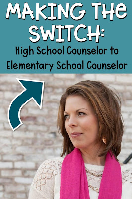 switching from high school counselor to elementary school counselor