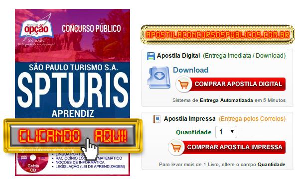 Apostila Concurso SPTURIS 2017 PDF Download Aprendiz