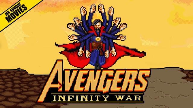 Avengers vs Thanos | Escenas en 16 Bit