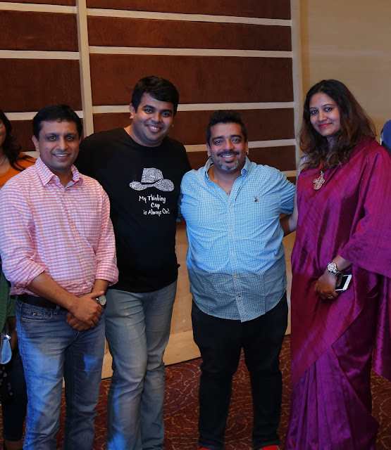 Comedian Jeeveshu created a laughter Riot at Novotel Hyderabad Airport