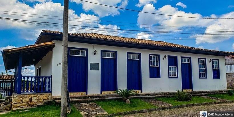 Casarão Dico Muniz, sede da Câmara - O que fazer em Catas Altas, Minas Gerais. Foto: Sérgio Mourão