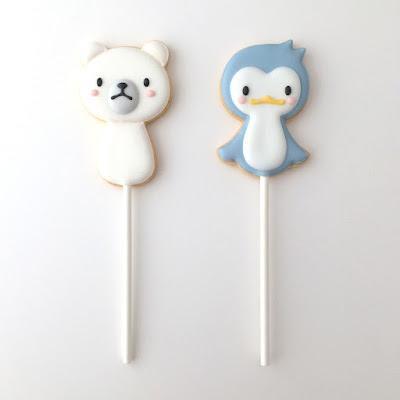 シロクマ&ペンギン
