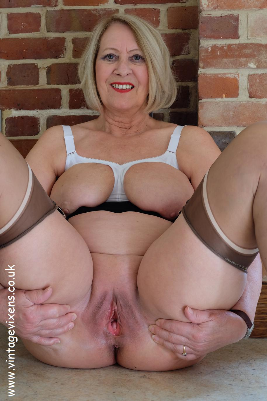 Lovely old ladies nude
