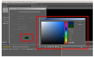 tutorial after effect memberi warna solid