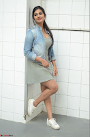 Neha Despandey in short deep neck dress at the Silk India Expo Exhibition ~  Exclusive 031.JPG