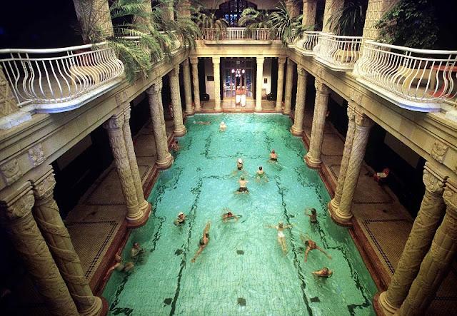 Banhos termais, Budapeste