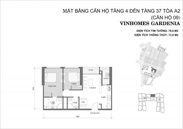 09 - Tòa A2 Vinhomes Gardenia