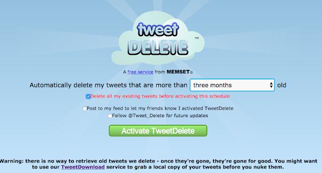 Begini Cara menghapus Riwayat Twitter Anda 3