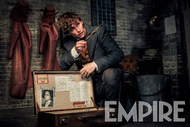 Newt aparece em nova foto de 'Os Crimes de Grindelwald' | Ordem da Fênix Brasileira