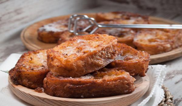 Torrijas de pan duro