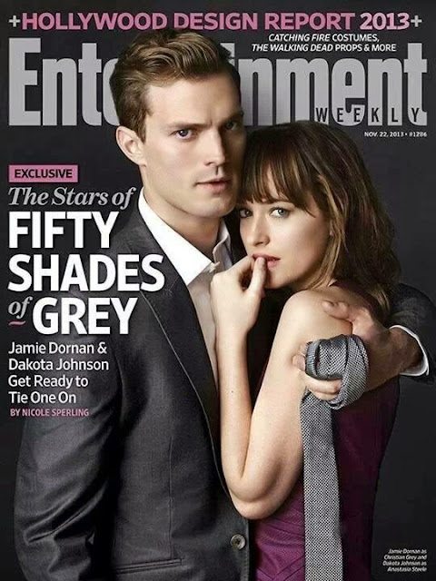 """50 Sombras de Grey"" portada en Entertainment Weekly"