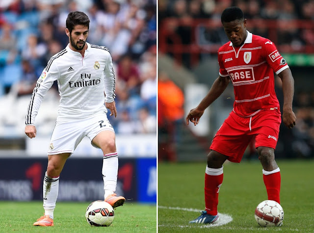 Arsenal eye Isco and Michy Batshuayi